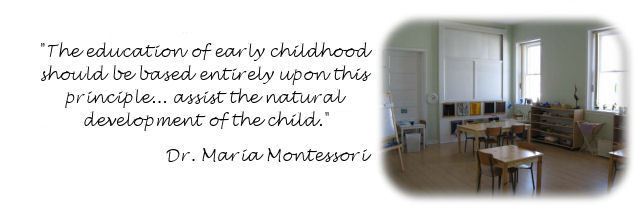 Montessori nursery programs